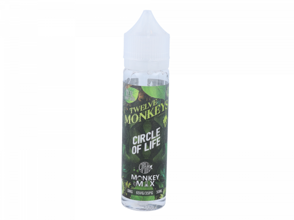 Twelve Monkeys - Circle of Life Monkey Mix 0mg/ml 50ml