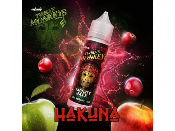 Twelve Monkeys - Hakuna - 50ml - 0mg/ml